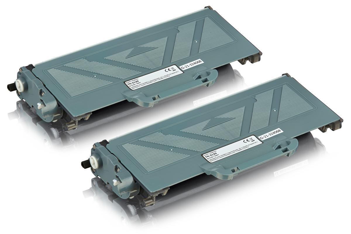 Kompatibel zu Brother TN-2120 Tonerkartusche multipack