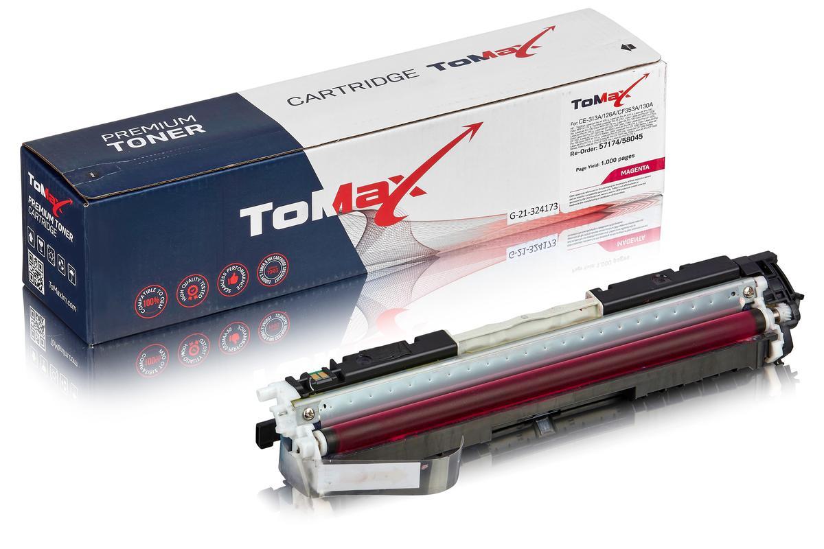 ToMax Premium ersetzt HP CE313A / 126A Toner, magenta