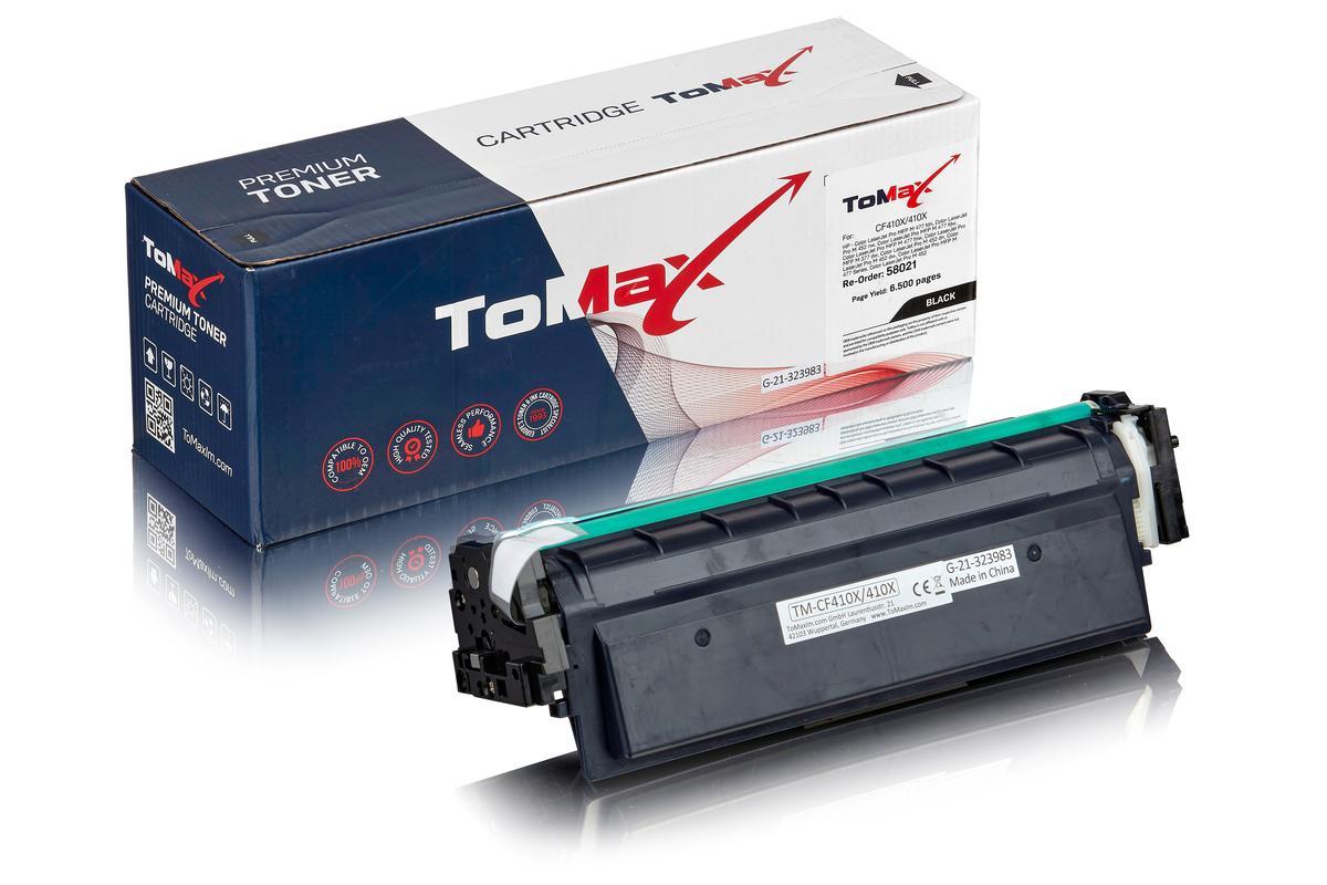 ToMax Premium ersetzt HP CF410X / 410X Toner, schwarz