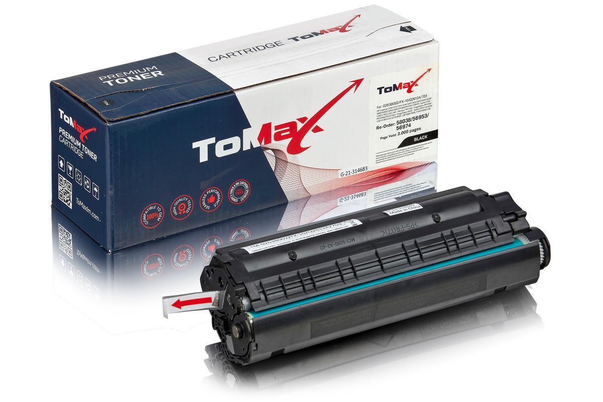 ToMax Premium ersetzt HP Q2612A / 12A Toner, schwarz
