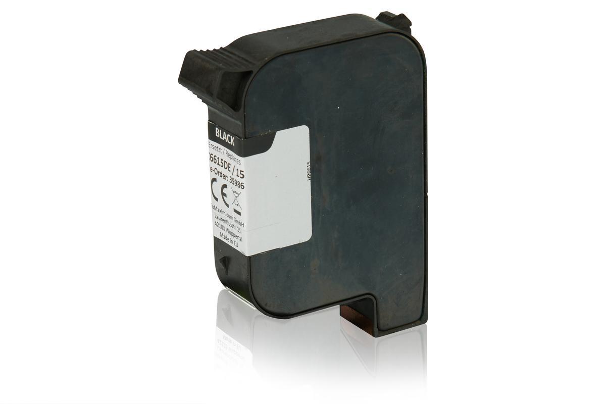 Kompatibel zu HP C6615DE / 15 Druckkopfpatrone, schwarz
