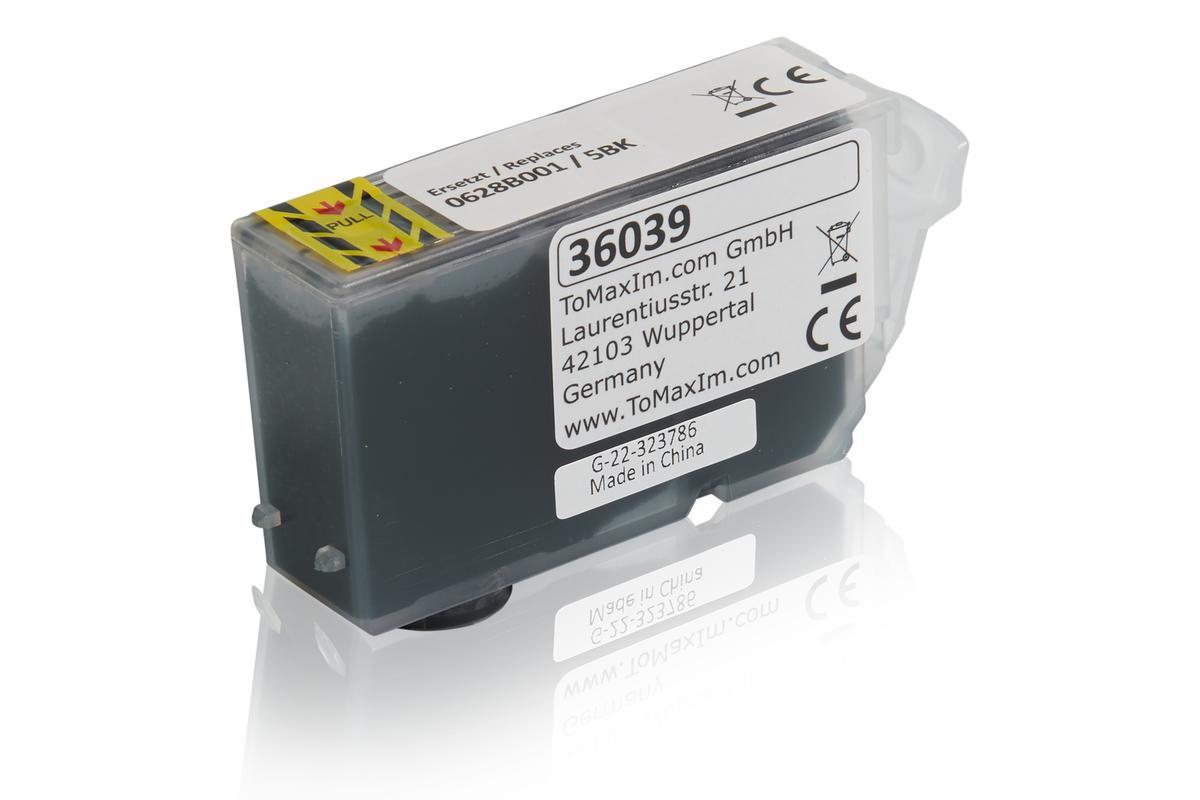 Kompatibel zu Canon 0628B001 / 5BK Tintenpatrone, schwarz