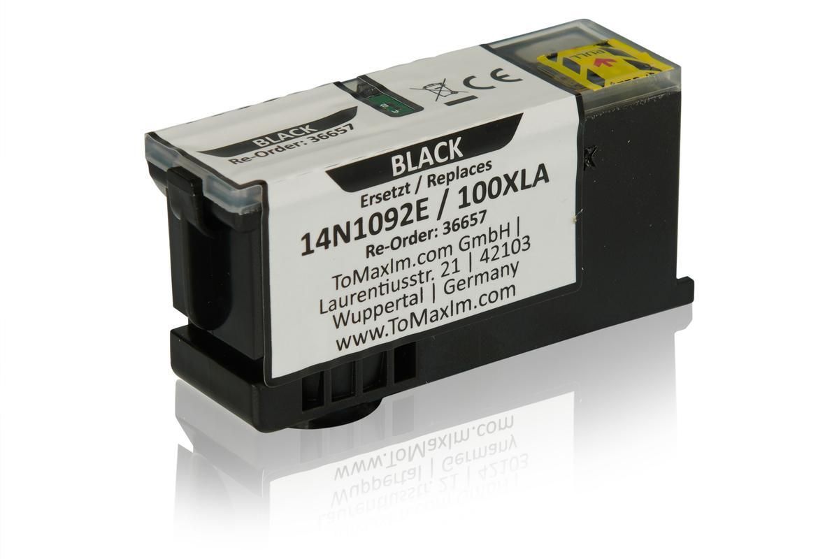 Alternative à Lexmark 14N1092E / 100XLA Cartouche d'encre, noir