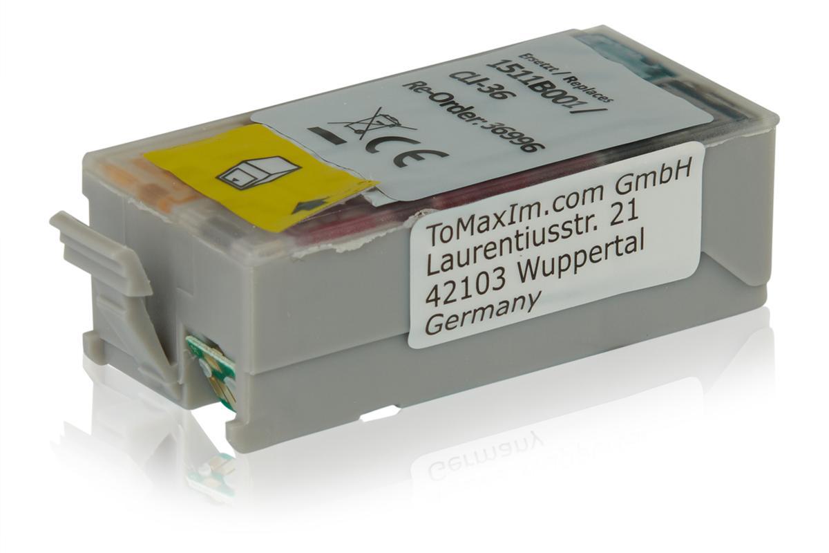 Kompatibel zu Canon 1511B001 / CLI-36 Tintenpatrone, color