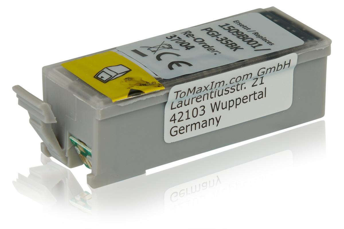 Kompatibel zu Canon 1509B001 / PGI-35BK Tintenpatrone, schwarz