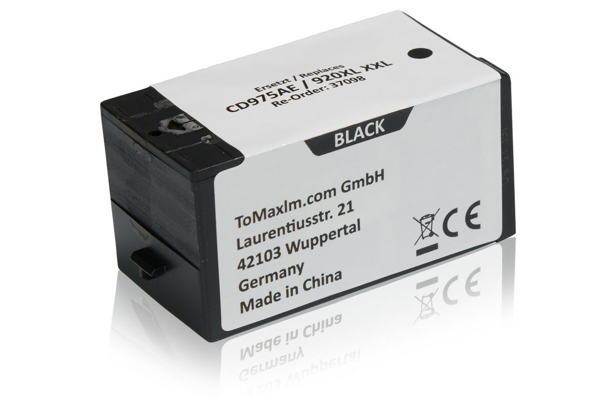 Kompatibel zu HP CD975AE / 920XL Tintenpatrone, schwarz