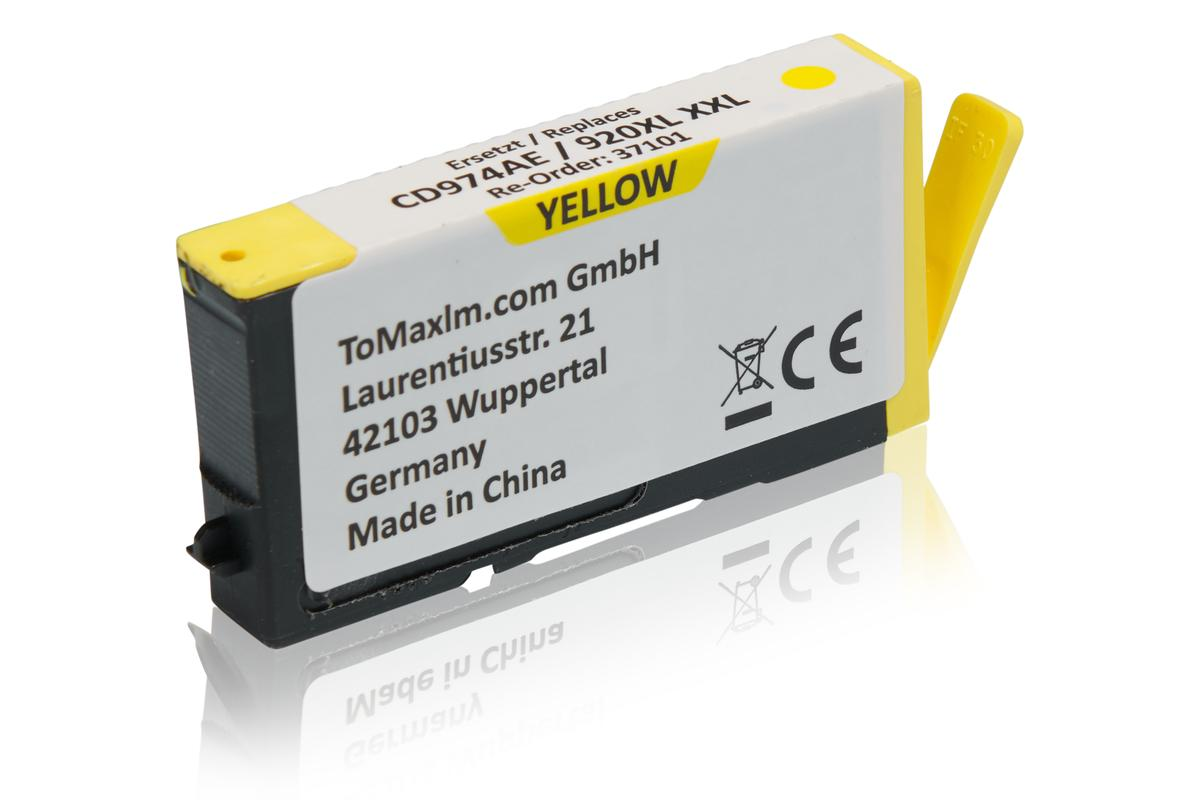 Kompatibel zu HP CD974AE / 920XL Tintenpatrone, gelb