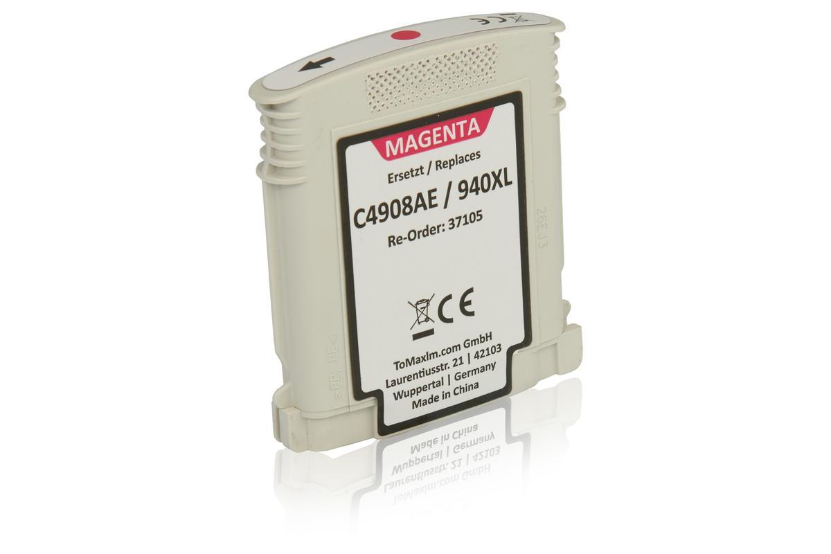 Kompatibel zu HP C4908AE / 940XL Tintenpatrone, magenta