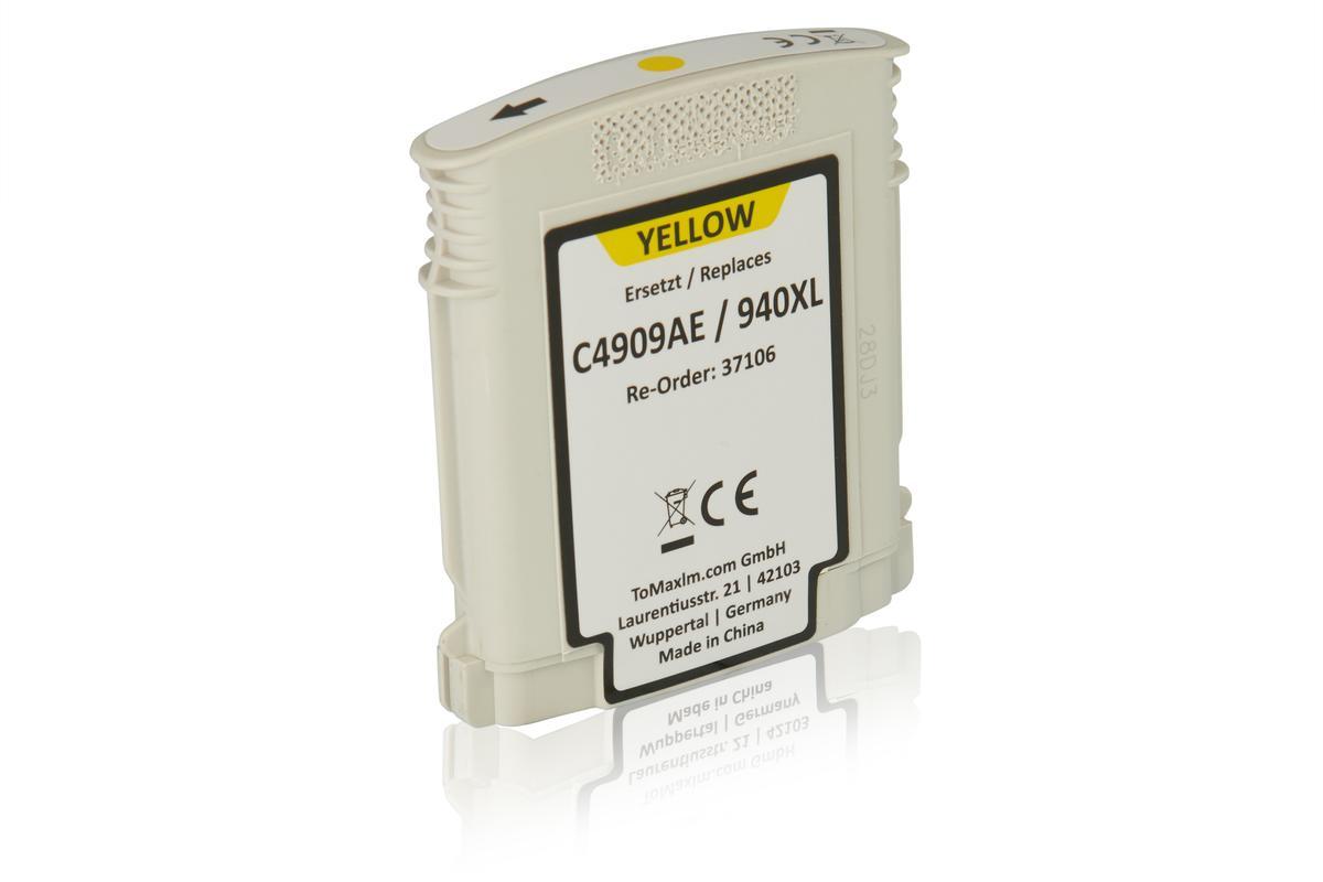 Kompatibel zu HP C4909AE / 940XL Tintenpatrone, gelb