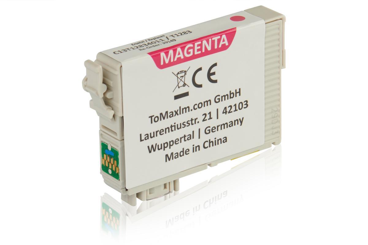 Kompatibel zu Epson C13T12834011 / T1283 Tintenpatrone, magenta