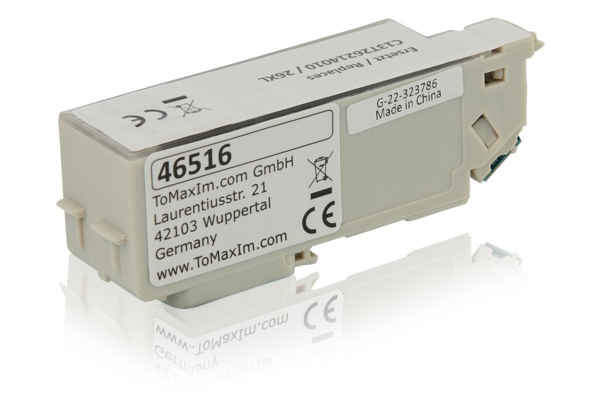 Kompatibel zu Epson C13T26214010 / 26XL Tintenpatrone, schwarz