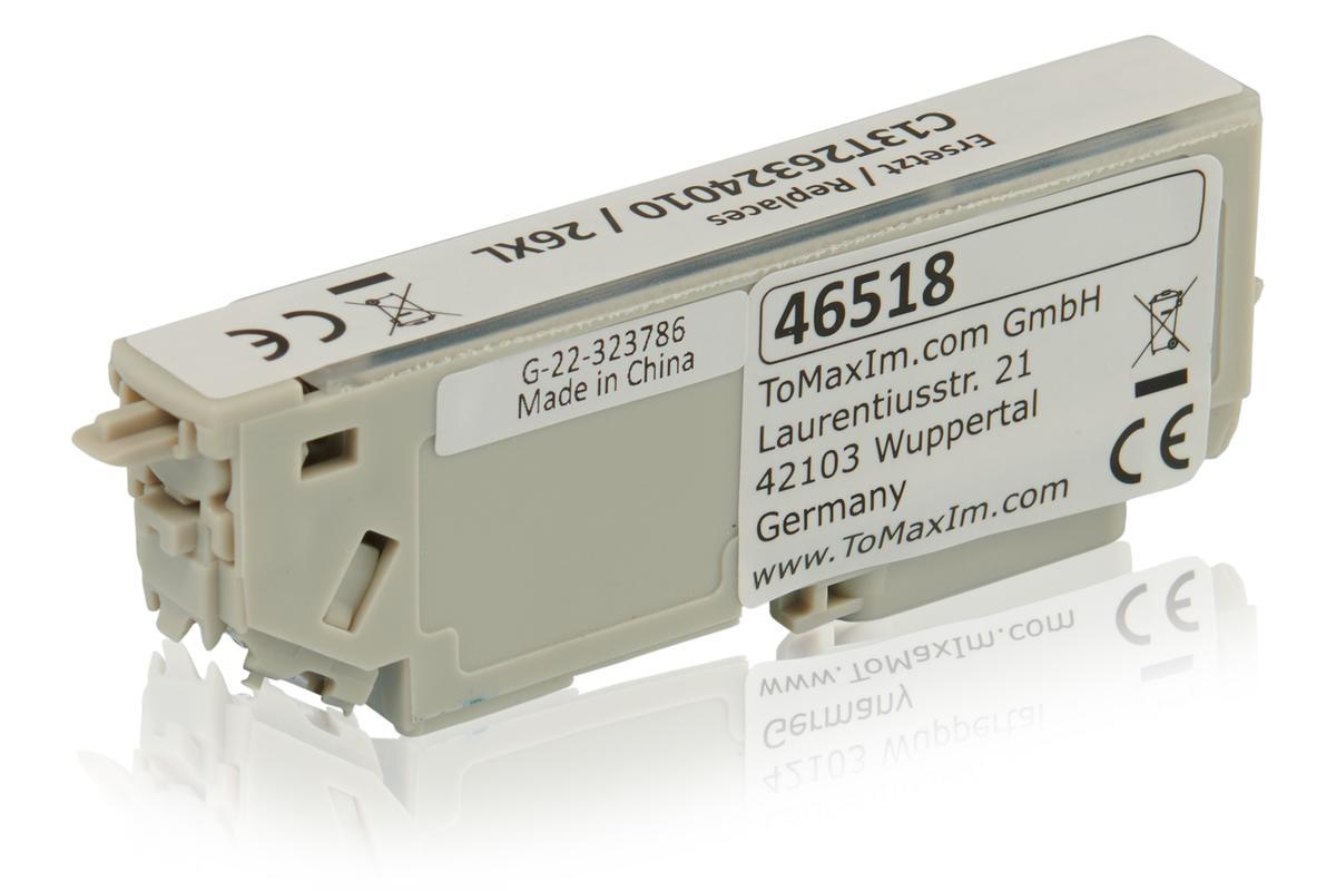 Kompatibel zu Epson C13T26324010 / 26XL Tintenpatrone, cyan