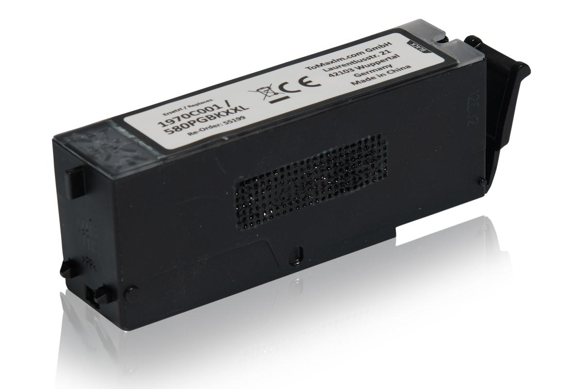 Kompatibel zu Canon 1970C001 / PGI-580PGBKXXL Tintenpatrone, schwarz