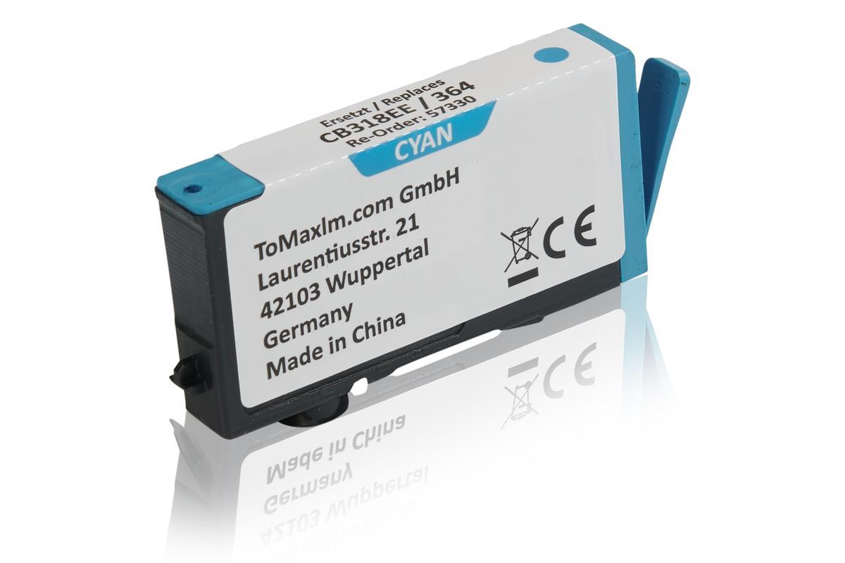 Kompatibel zu HP CB318EE / 364 Tintenpatrone, cyan