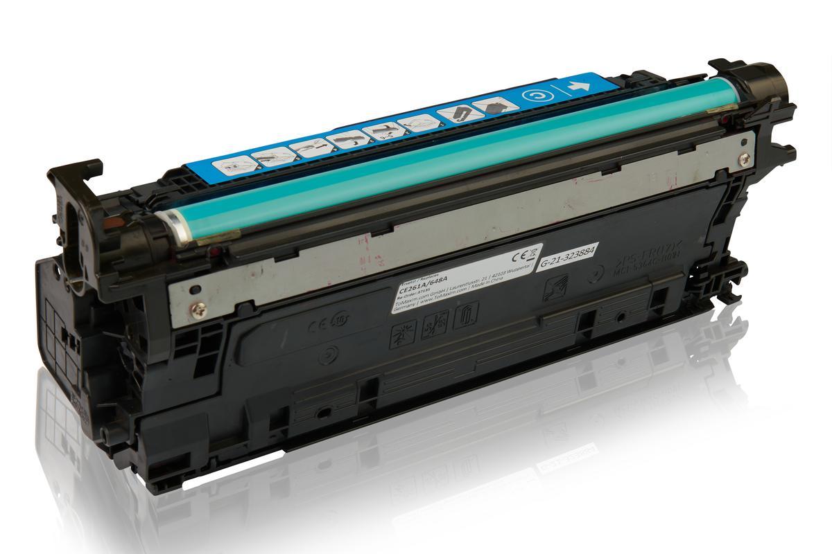 Kompatibel zu HP CE261A / 648A Tonerkartusche, cyan