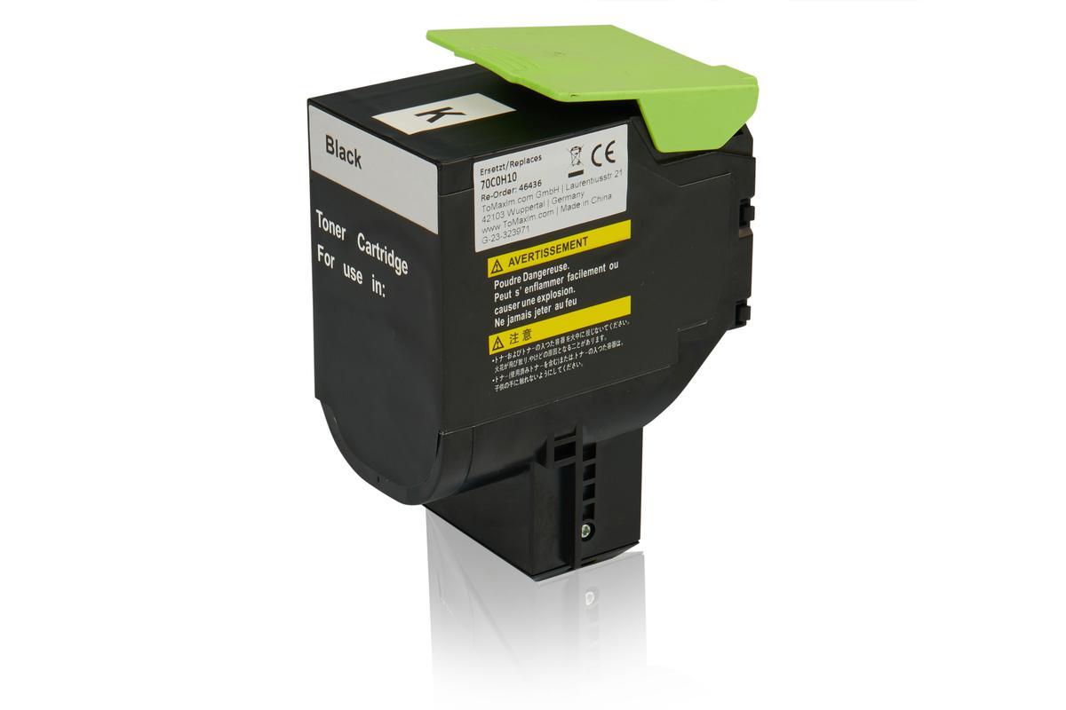 Kompatibel zu Lexmark 70C0H10 / 700H1 Tonerkartusche, schwarz