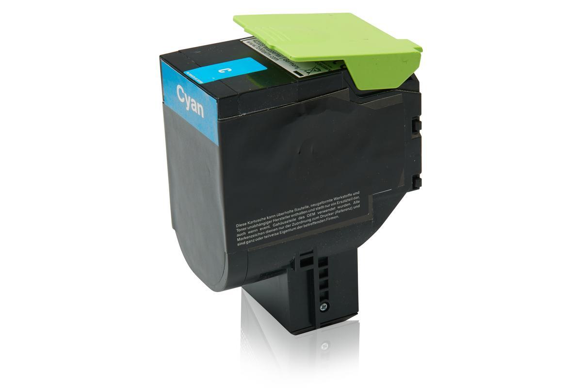 Kompatibel zu Lexmark 70C2HC0 / 702HC Tonerkartusche, cyan