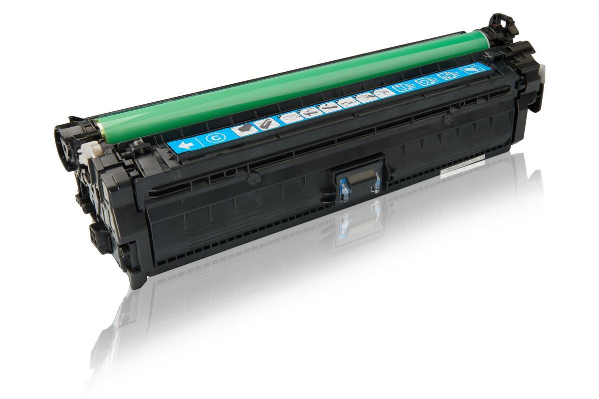 Kompatibel zu HP CE341A / 651A Tonerkartusche, cyan