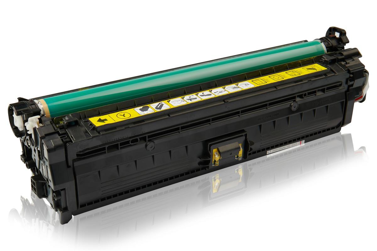 Kompatibel zu HP CE342A / 651A Tonerkartusche, gelb