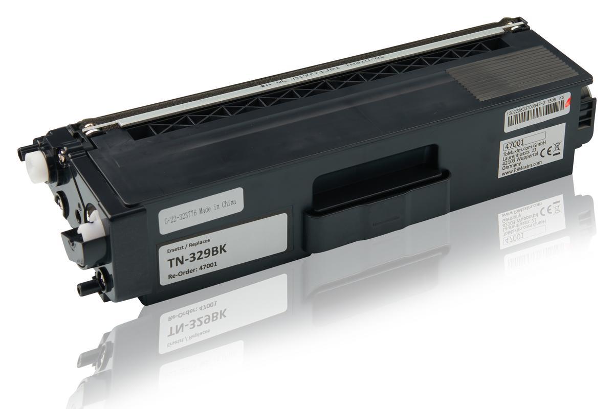 Kompatibel zu Brother TN-329BK Tonerkartusche, schwarz