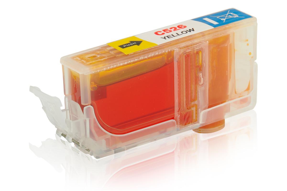 Kompatibel zu Canon 4543B001 / CLI-526Y Tintenpatrone, gelb