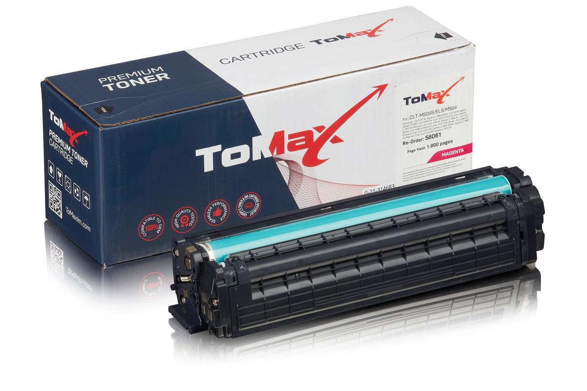 ToMax Premium ersetzt Samsung CLT-M504S/ELS / M504 Toner Magenta