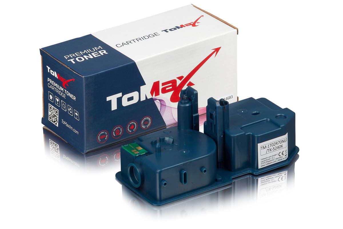 ToMax Premium ersetzt Kyocera 1T02R70NL0 / TK-5240K Toner Schwarz