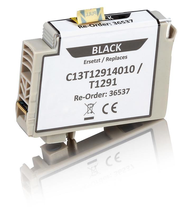 Kompatibel zu Epson C13T12914010 / T1291 Tintenpatrone, schwarz
