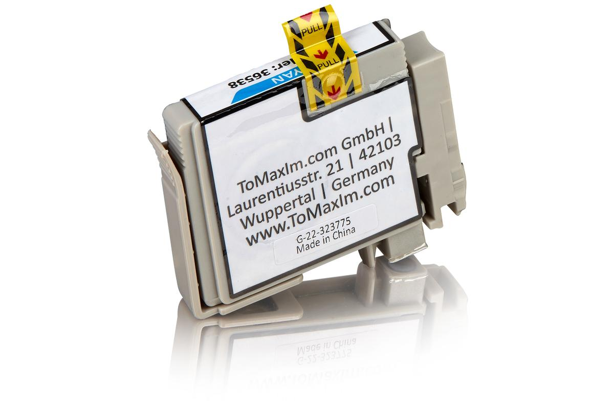 Kompatibel zu Epson C13T12924010 / T1292 Tintenpatrone, cyan