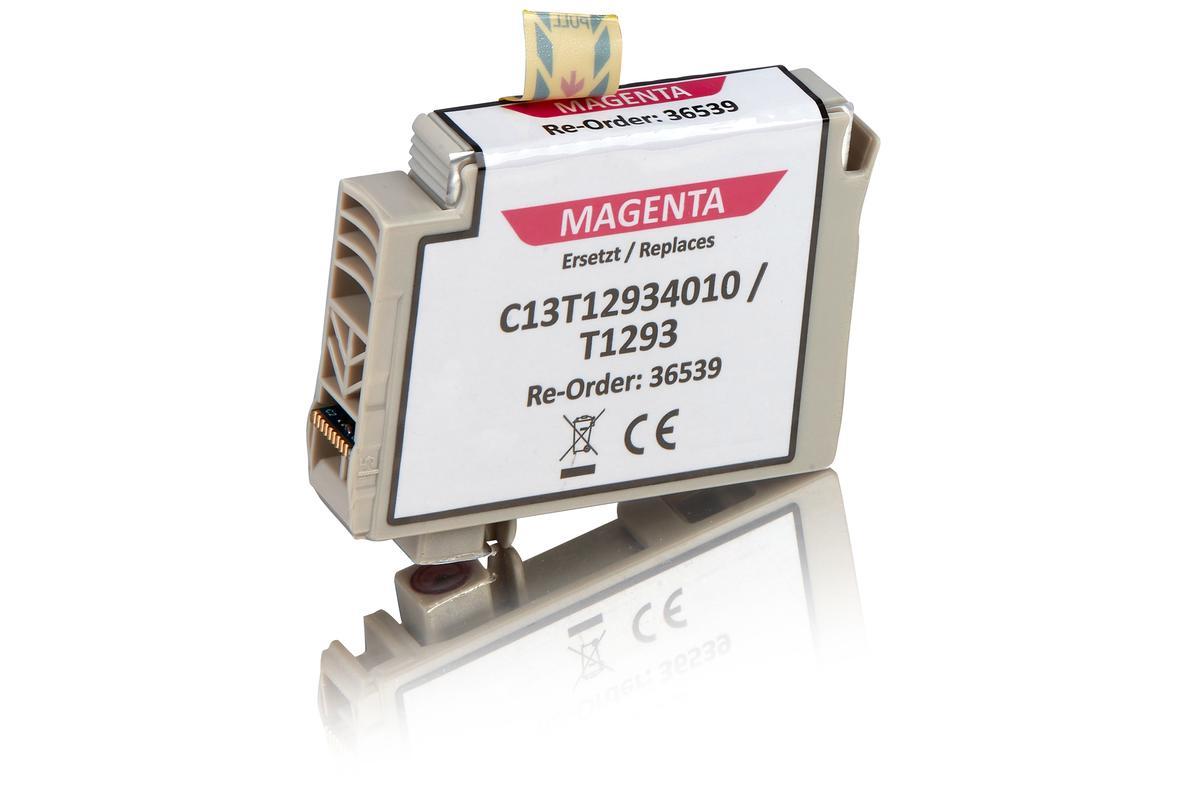 Kompatibel zu Epson C13T12934010 / T1293 Tintenpatrone, magenta