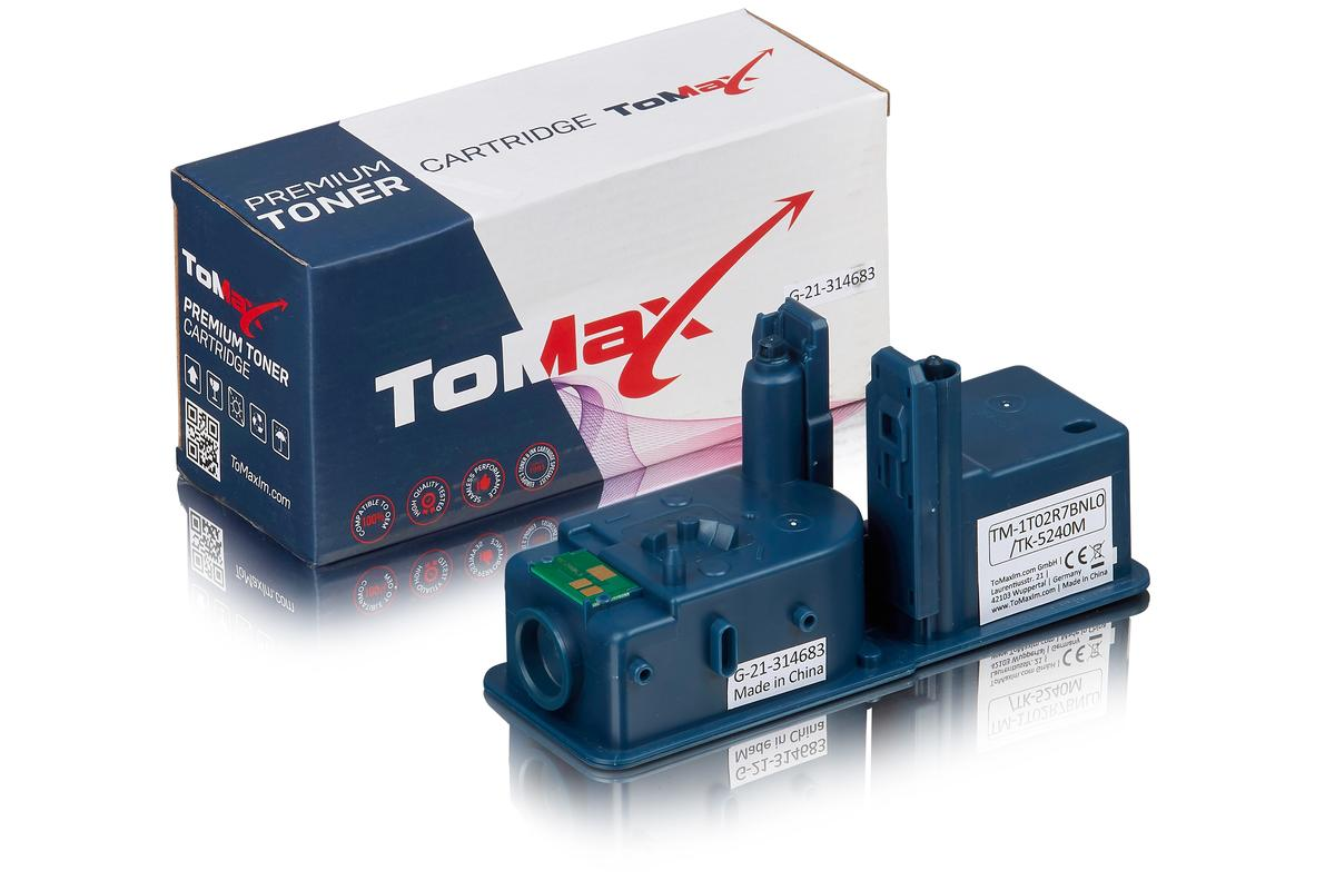 ToMax Premium ersetzt Kyocera 1T02R7BNL0 / TK-5240M Toner Magenta