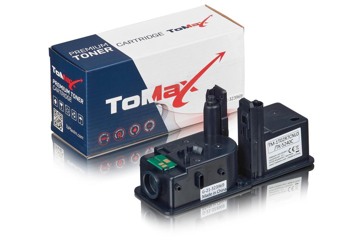 ToMax Premium ersetzt Kyocera 1T02R7CNL0 / TK-5240C Toner Cyan