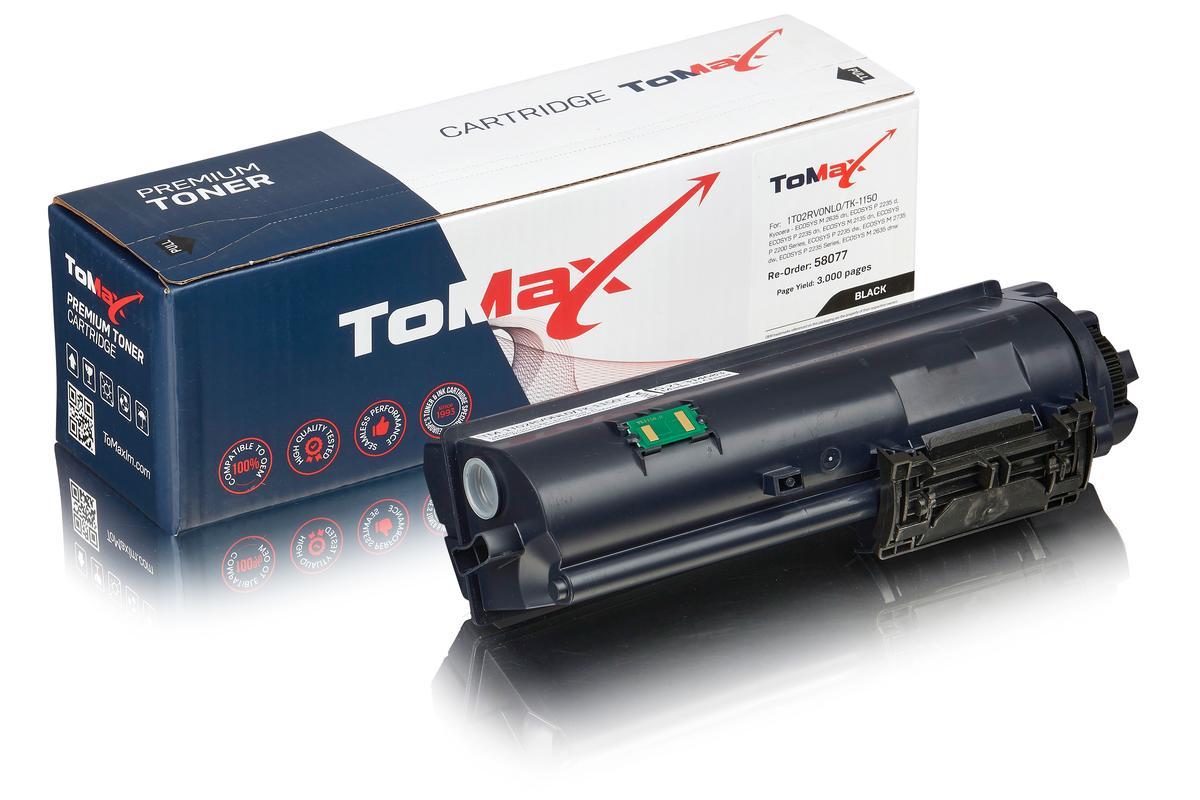 ToMax Premium ersetzt Kyocera 1T02RV0NL0 / TK-1150 Toner Schwarz