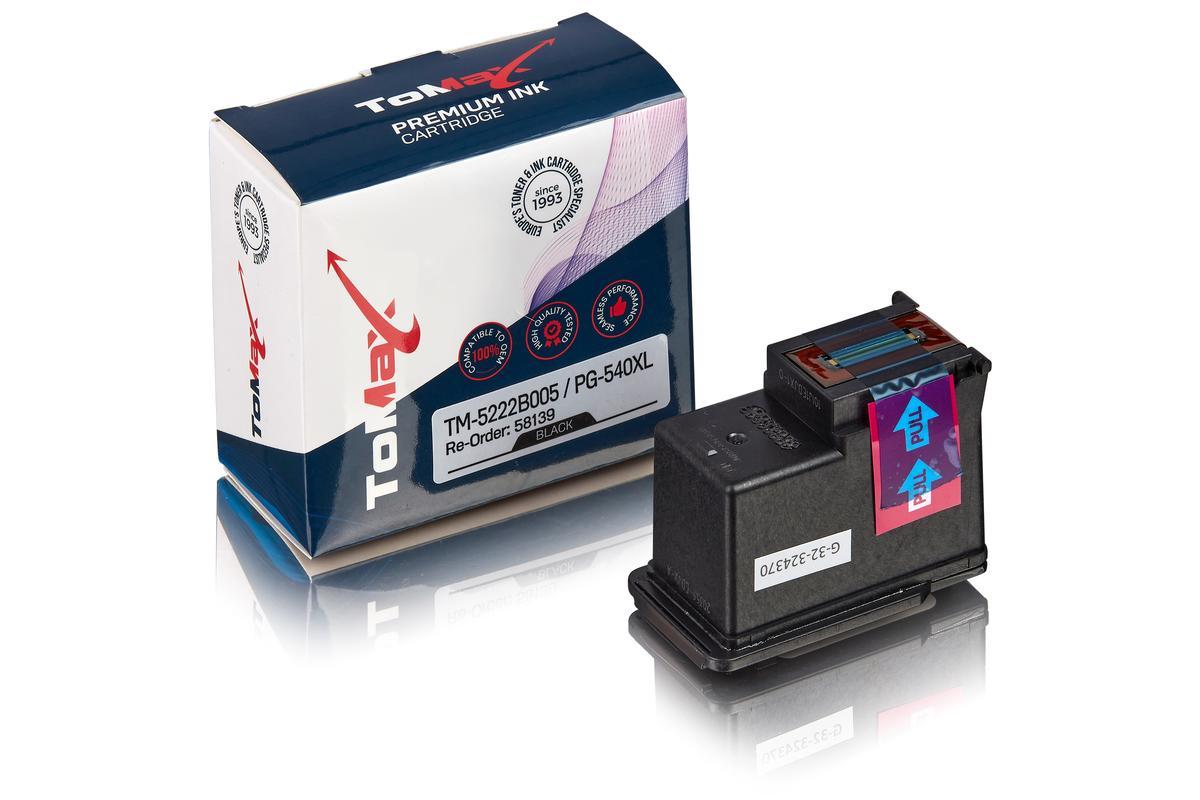 ToMax Premium ersetzt Canon 5222B005 / PG-540XL Druckkopfpatrone Schwarz