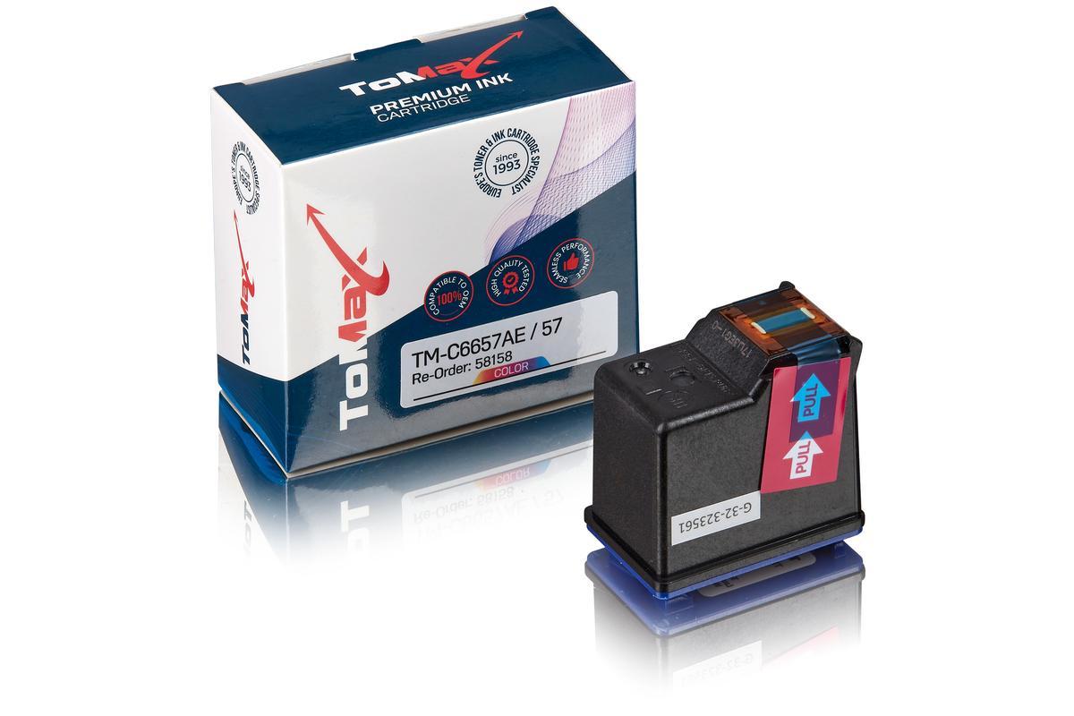 ToMax Premium alternative à HP C6657AE / 57 Cartouche à tête d'impression, couleur