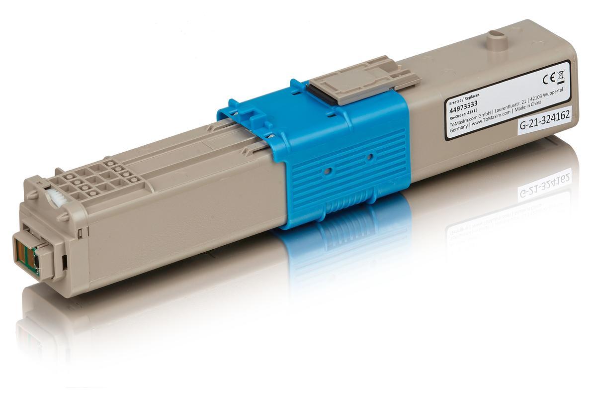 Kompatibel zu OKI 44973533 / C301 Tonerkartusche, gelb