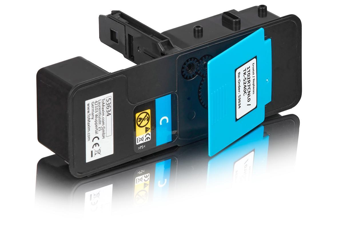 Kompatibel zu Kyocera 1T02R7CNL0 / TK-5240C Tonerkartusche, cyan