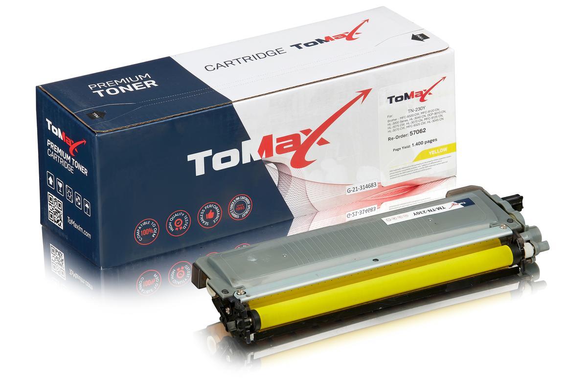 ToMax Premium alternative à Brother TN-230Y Cartouche toner, jaune