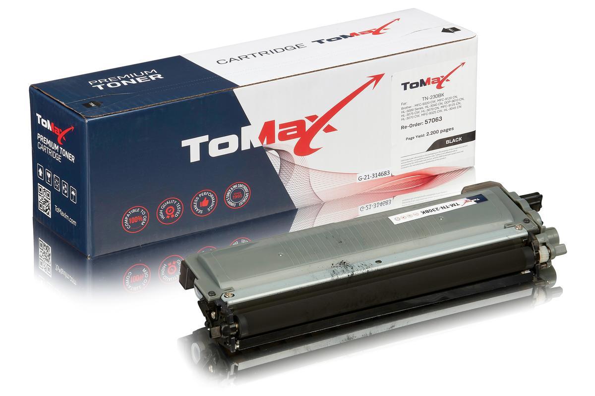 ToMax Premium ersetzt Brother TN-230BK Toner, schwarz