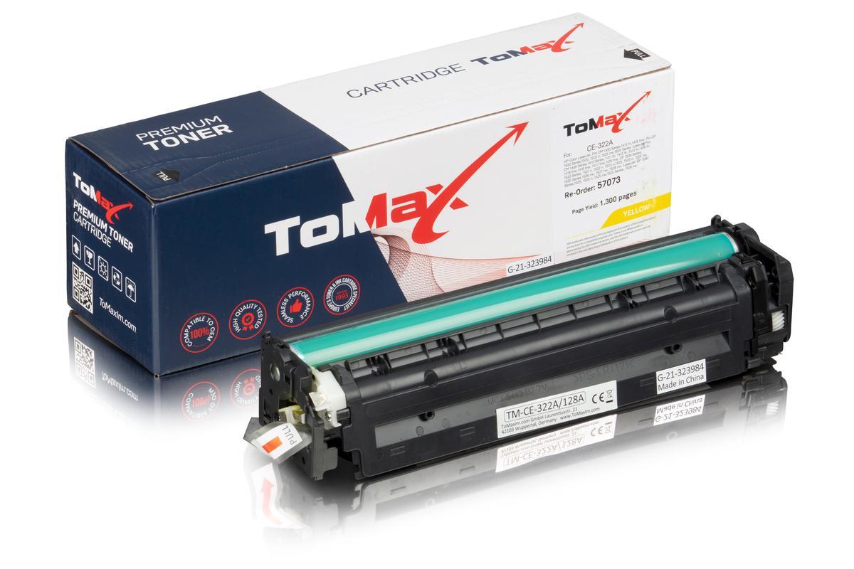 ToMax Premium ersetzt HP CE322A / 128A Toner, gelb