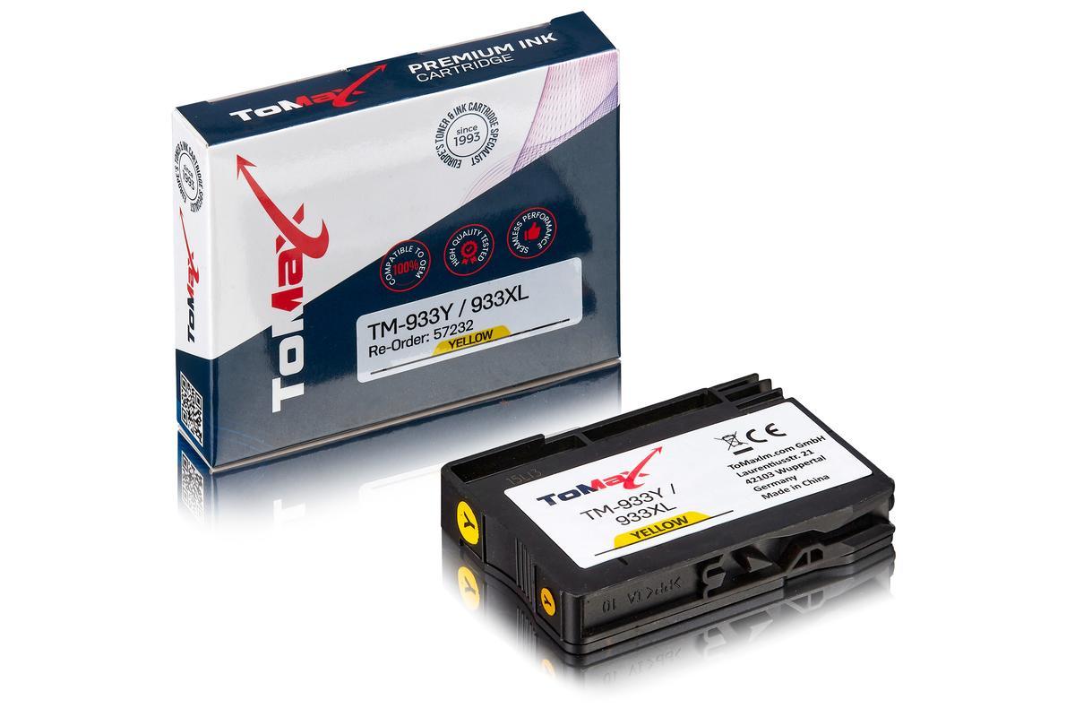 ToMax Premium ersetzt HP CN056AE / 933XL Tintenpatrone, gelb