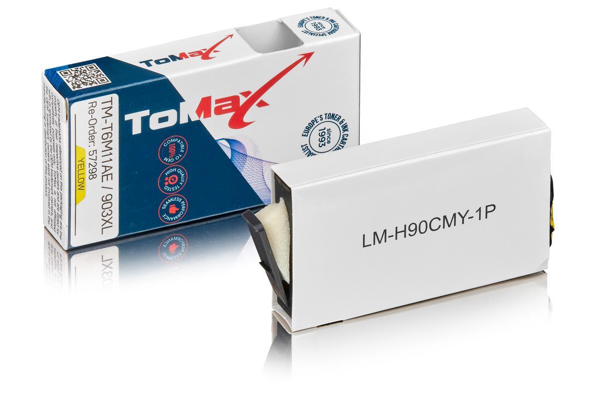 ToMax Premium ersetzt HP T6M11AE / 903XL Tintenpatrone, gelb