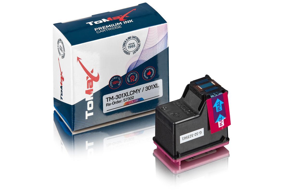 ToMax Premium ersetzt HP CH562EE / 301XL Druckkopfpatrone, color