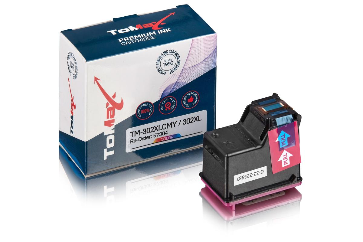 ToMax Premium ersetzt HP F6U67AE / 302XL Druckkopfpatrone, color