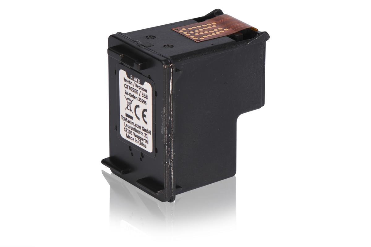Kompatibel zu HP C8765EE / 338 Druckkopfpatrone, schwarz
