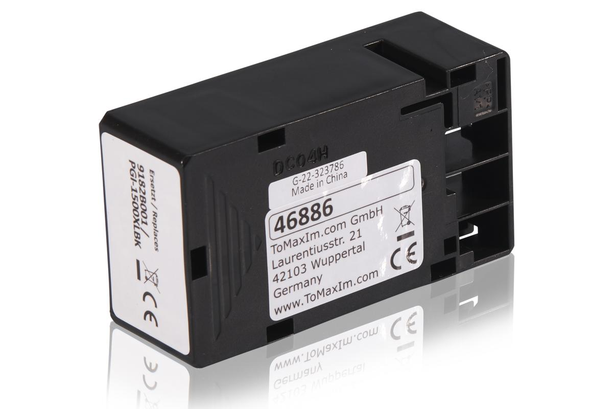 Kompatibel zu Canon 9182B001 / PGI-1500XLBK Tintenpatrone, schwarz
