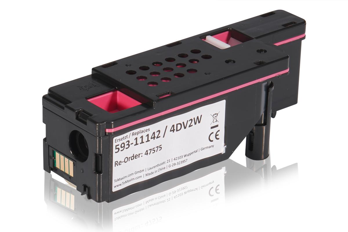 Kompatibel zu Dell 593-11142 / 4DV2W Tonerkartusche, magenta