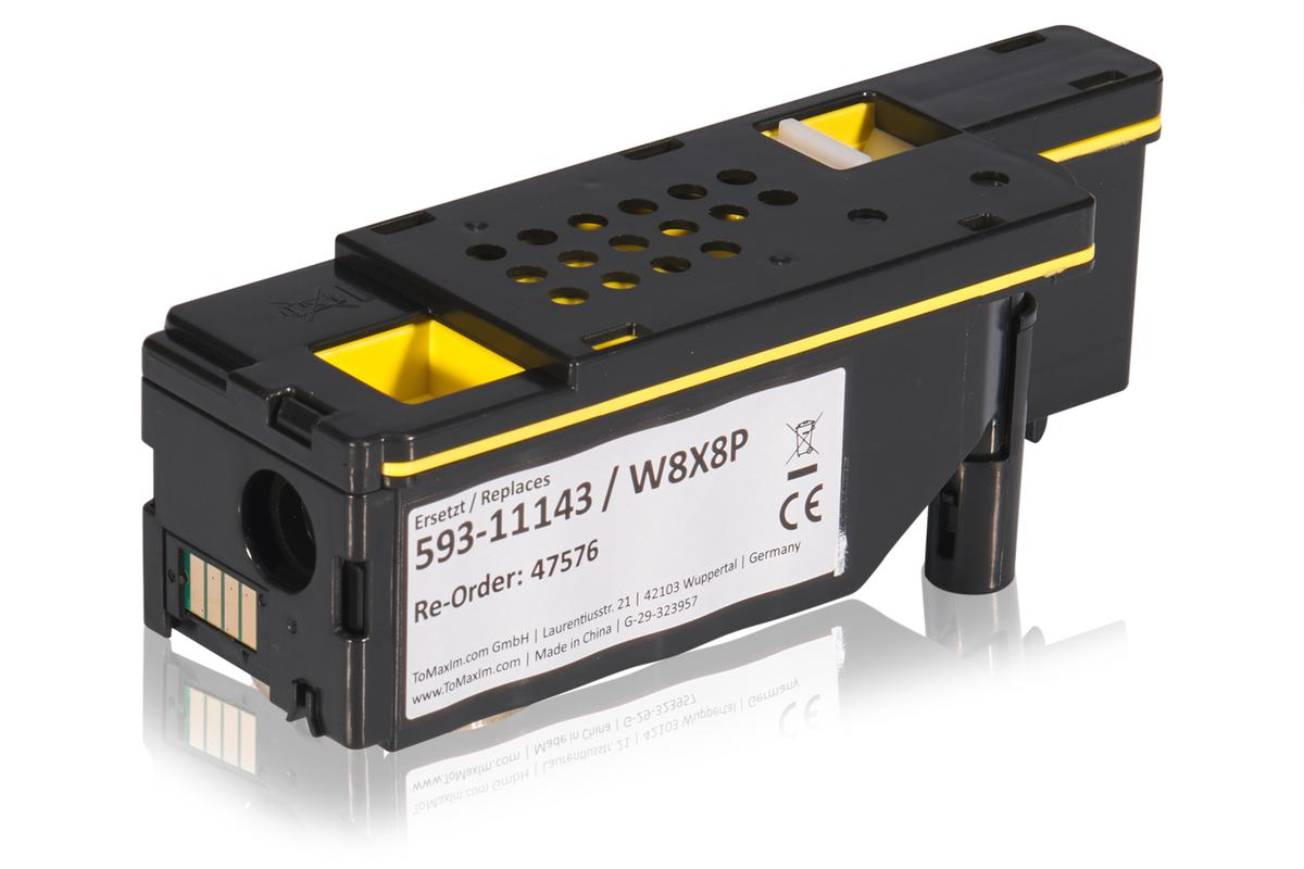 Kompatibel zu Dell 593-11143 / W8X8P Tonerkartusche, gelb