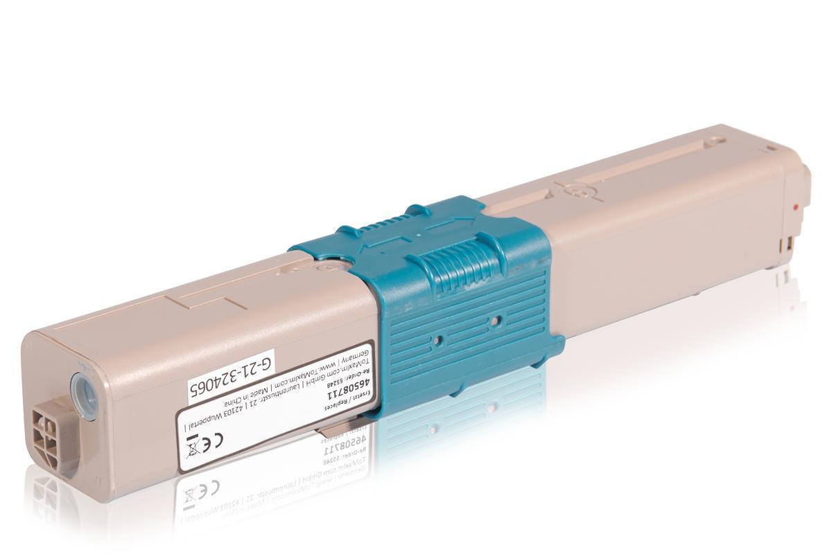Kompatibel zu OKI 46508711 / C332 Tonerkartusche, cyan