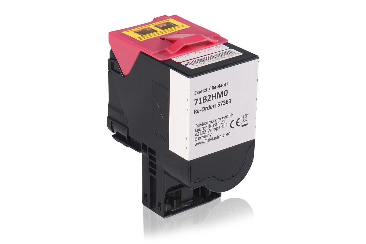 Kompatibel zu Lexmark 71B2HM0 Tonerkartusche, magenta